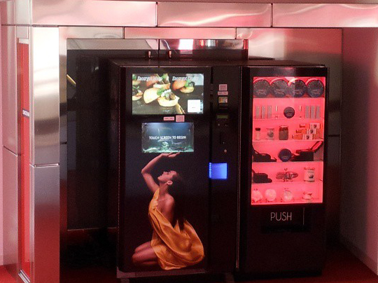 Beverly Hills Caviar Boutiques Caviar Atm Automated Caviar Machine BHC Boutiques
